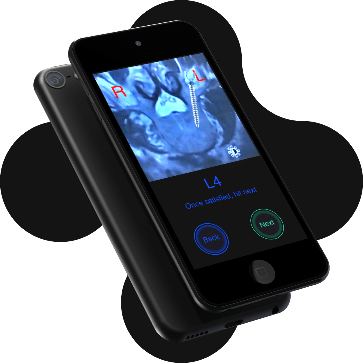 Bolt product demo on a phone screen